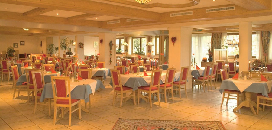 Hotel Tilerhof, Oberau, The Wildschönau Valley, Austria - Restaurant interior.jpg